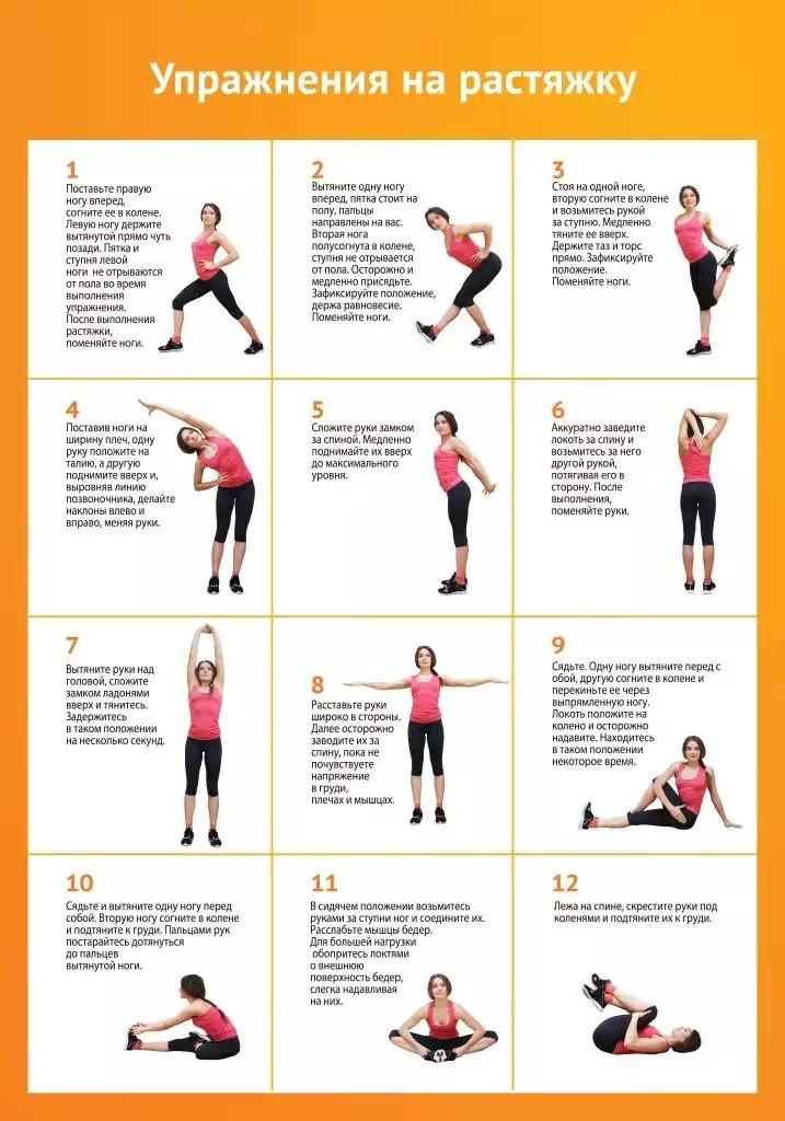 Упражнения для похудения фото уроки