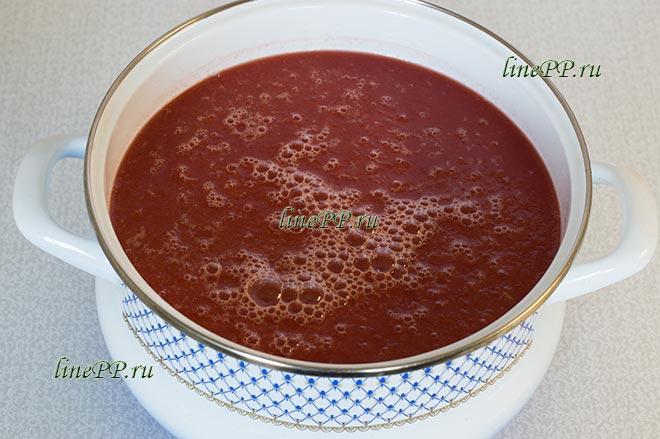 Арбузный соус к мясу