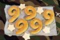 Творожное печенье ПП рецепт с цельнозерновой мукой ко Дню Победы