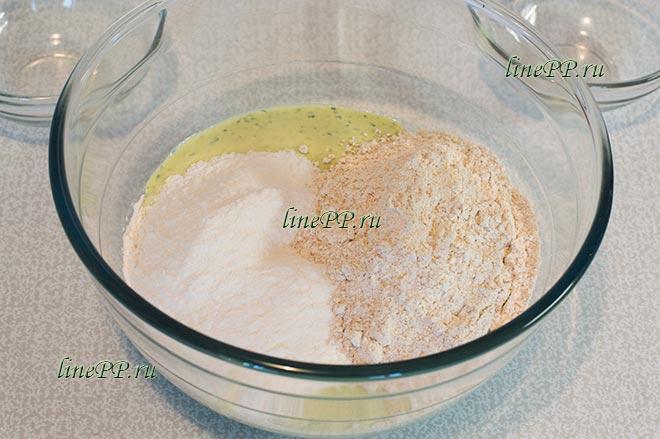 ПП печенье из творога и рисовой муки