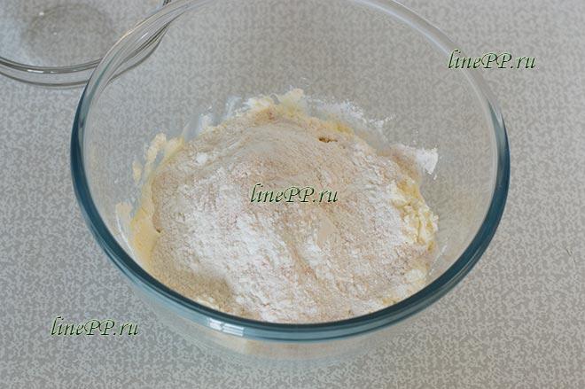 Печенье из рисовой муки ПП рецепт