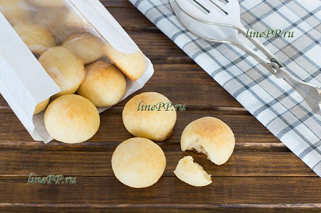 Рецепт творожного ПП печенья из рисовой муки