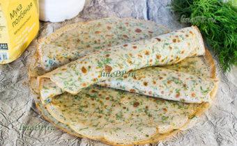 Блины из полбяной муки на ряженке ПП рецепт с фото пошагово (калорийность 163 ккал)