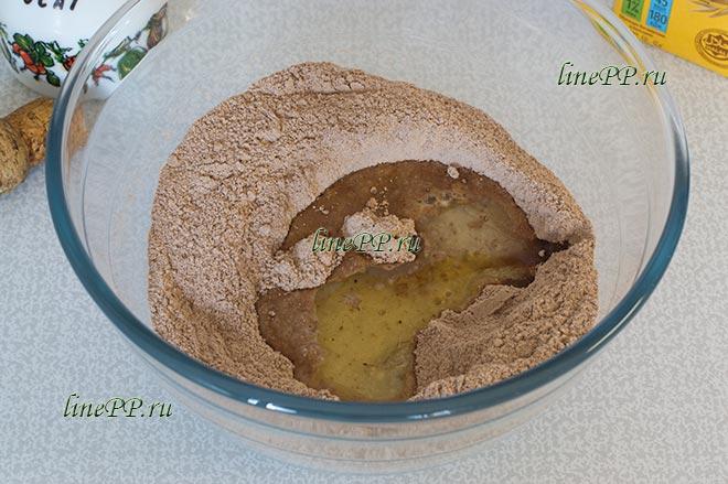Печенье из цельнозерновой муки ПП рецепт