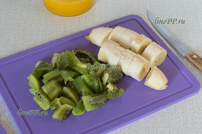 Смузи из киви и банана рецепт