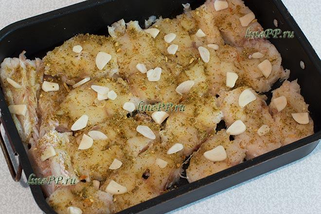 Рыба пп в духовке рецепт