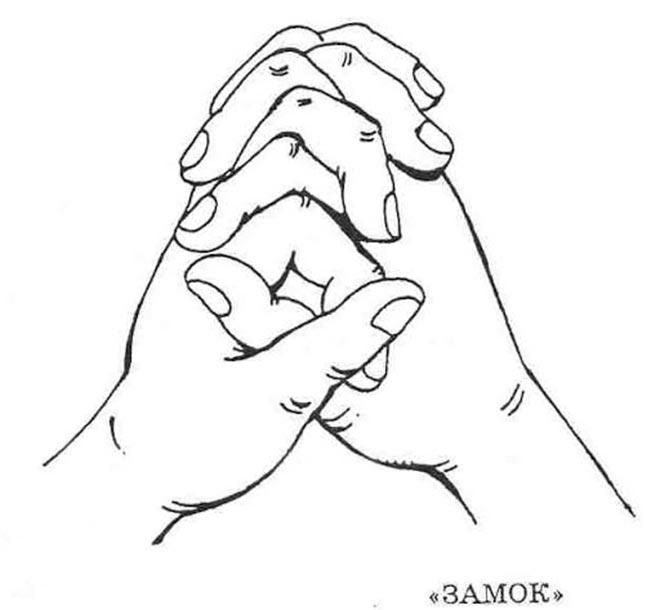 Упражнение Замок для кистей рук