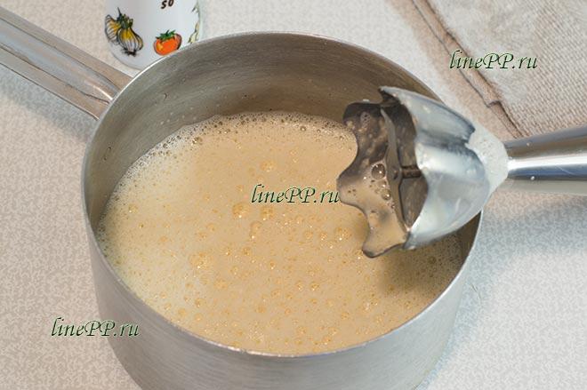 Овсяноблин на молоке для правильного питания