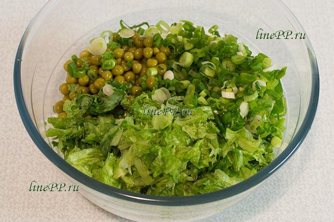 Овощной салат ПП рецепт без мяса