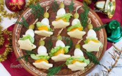 ПП закуска на Новый год с перепелиными яйцами – рецепт для праздничного стола