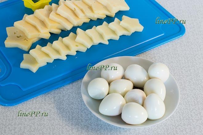 ПП закуска на Новый год с перепелиными яйцами