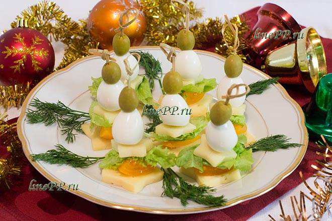 Рецепт ПП закуски на праздничный стол