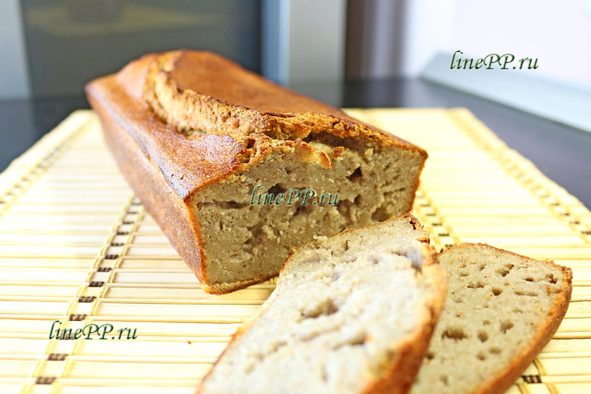 Хлеб из зелёной гречки рецепт без дрожжей