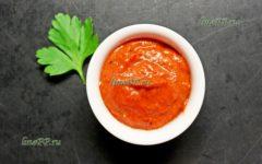 Низкокалорийный соус к курице, рыбе, мясу