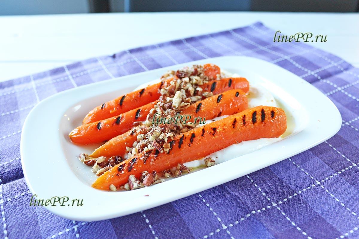 Диетическое блюдо из моркови