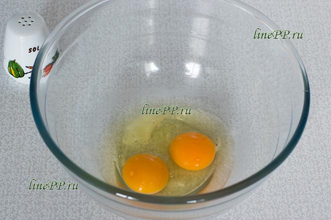 Яйца, соль