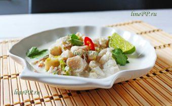 Рыба в кокосовом молоке по-тайски