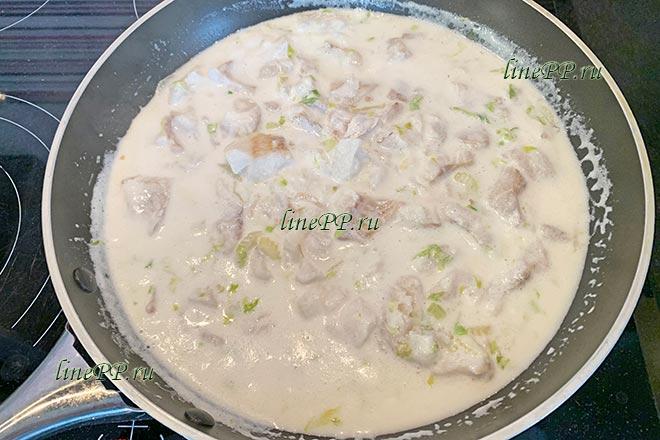 Соус из кокосового молока для рыбы