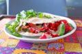 Салат с тахини соусом