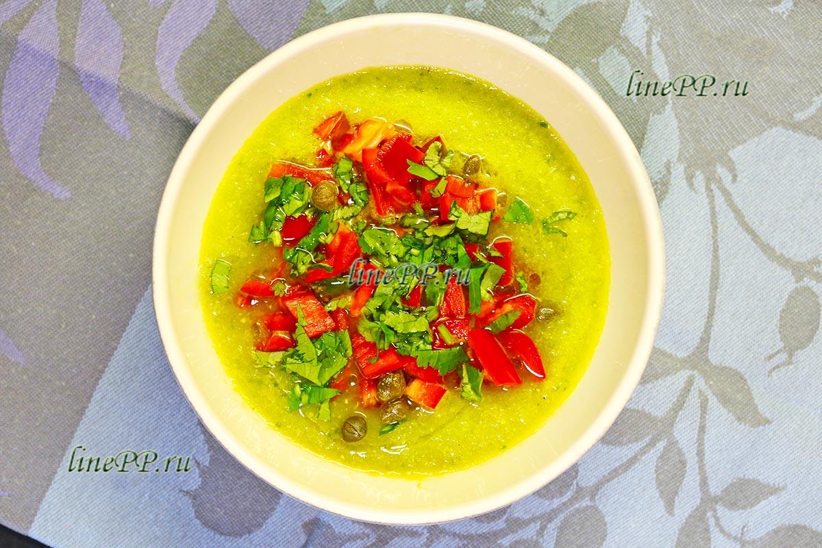 Овощной суп ПП рецепт с фото и видео